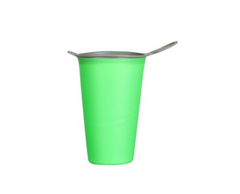 gobelet pliable personnalisé vert