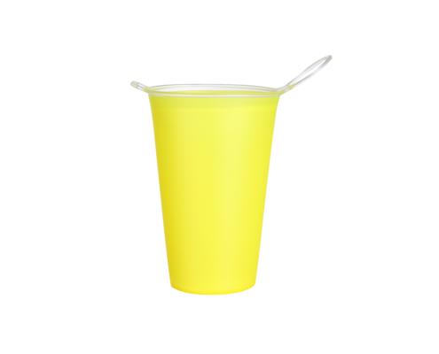 gobelet pliable personnalisé jaune
