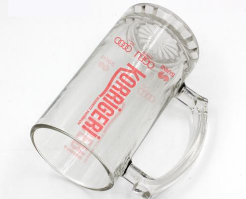 verre à bière personnalisé