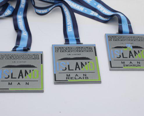 médailles finisher personnalisées