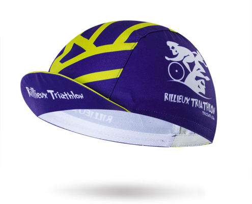 casquette cycliste personnalisable