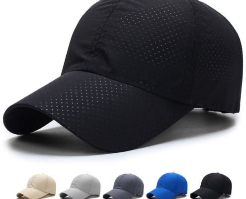 casquette running personnalisé noire