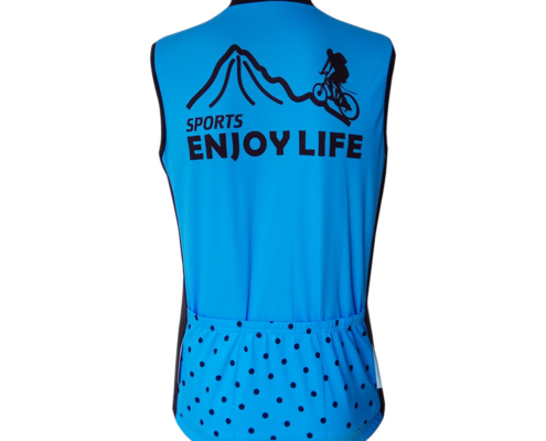veste cyclisme sans manche personnalisable