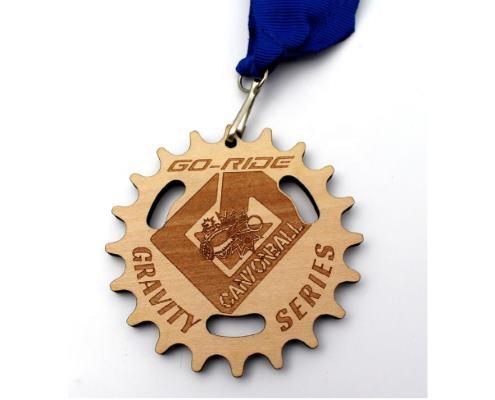 médailles bois personnalisées