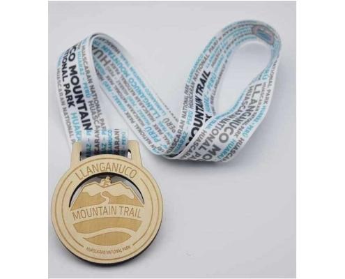 médaille bois personnalisée