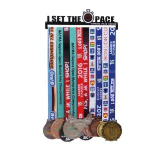 Porte médaille personnalisé