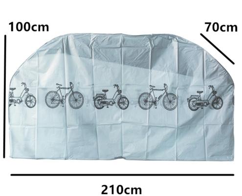 housse de pluie vélo personnalisée dimensions