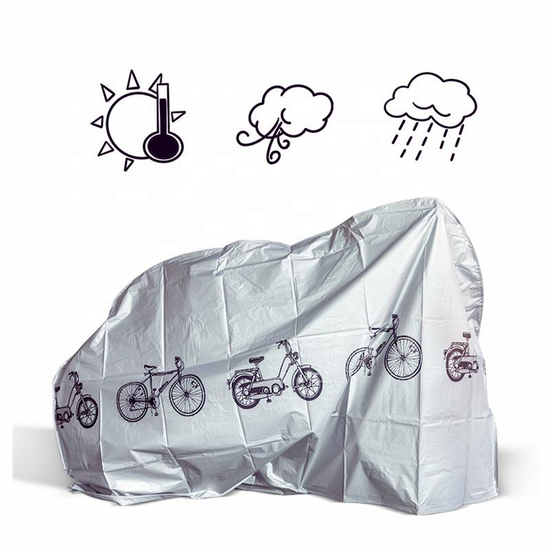 housse de pluie vélo personnalisée